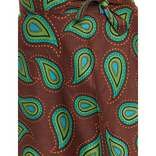 ShalinIndia - Camisola - para mujer marrón