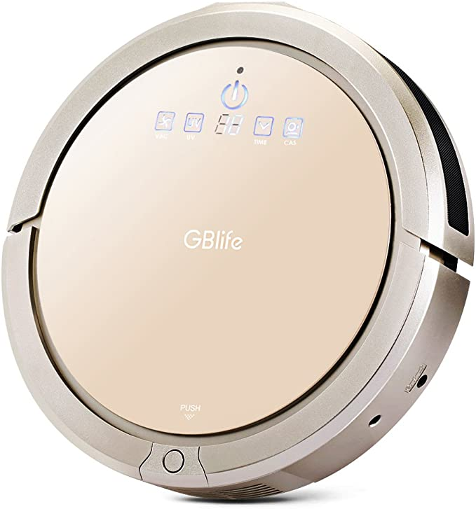 GBlife Inteligente Robot Aspirador, Automático Limpiador Robótico ...