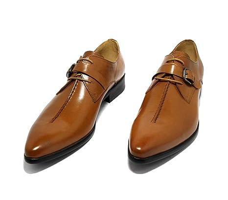 Zapatos De Cuero Verdaderos Hombres Primavera Verano Negro Vino Tinto Marrón Moda Cómodo Bajo Top Casual