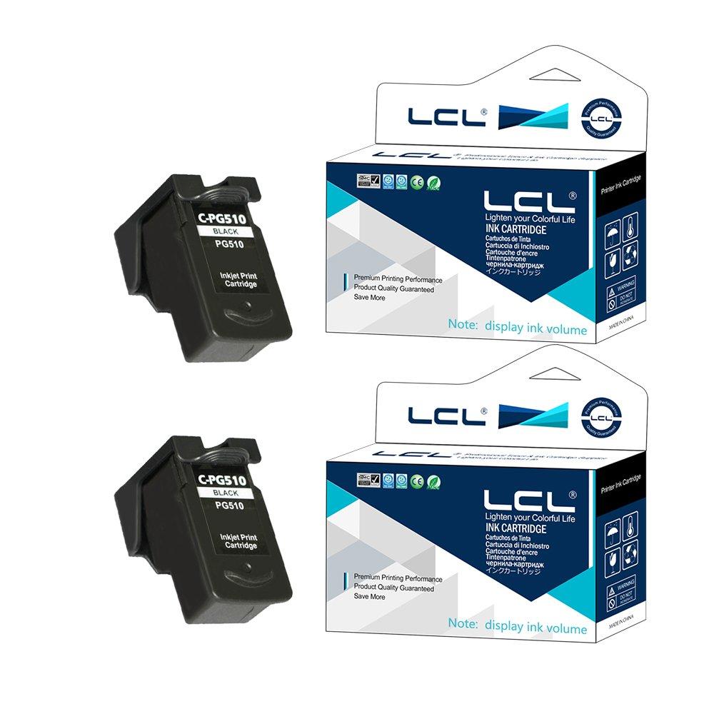 LCL Cartucho de Tinta Muestran la Capacidad PG510 PG-510 PG-510XL ...