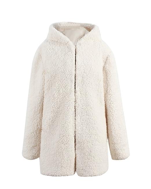 sale retailer be85d c8bb6 YuanDian Donna Autunno Inverno Casuale Lunga Cappotto di ...