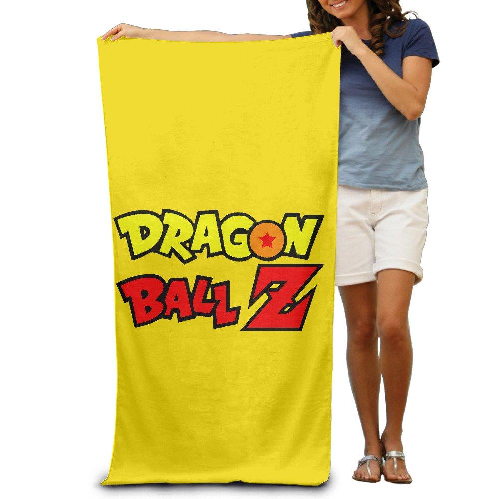 iayayo Dragon Ball Z Logo de baño/toalla de playa/31,5