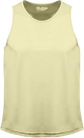 Mens Vest Sports Cool Vest Awdis Just Cool Gym Vests Plain Top JC007
