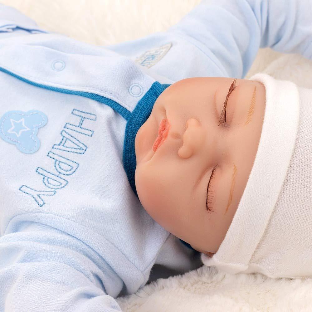 Baby Schlafanzug ohne F/ü/ße f/ür Neugeborene /& Kleinkinder Motiv: Mickey Mouse Gr/ö/ße: 3-6 Monate 68 Disney Baby Strampler Jungen hellblau