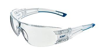 Leicht Dr/äger Schutzbrille X-pect 8120 F/ür Baustelle 3 St. Werkstatt und Fahrrad-Fahren Einstellbare /Überbrille auch f/ür Brillentr/äger klar und Kratzfest Labor
