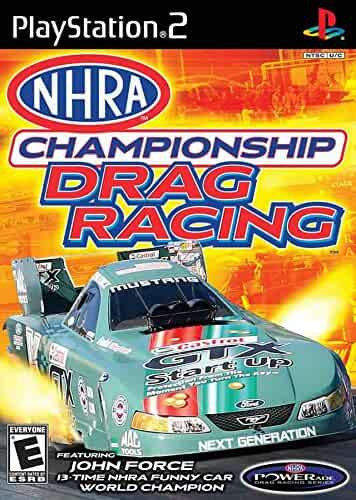 Amazon Com Nhra Championship Drag Racing Playstation 2