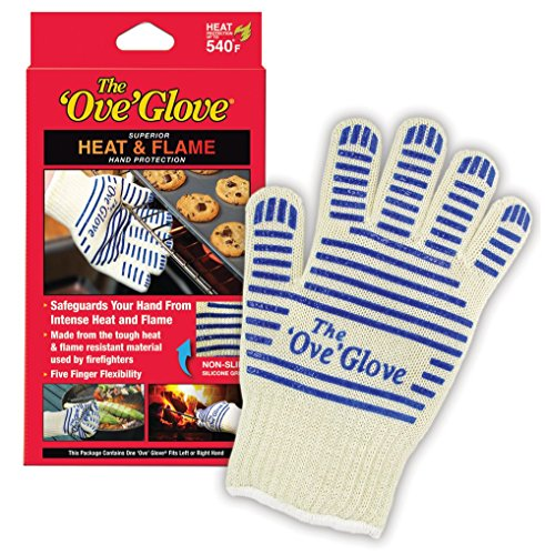 Oven Hot Mitt (Ove Glove Hot Surface Handler, 1 Glove(Packaging may vary))