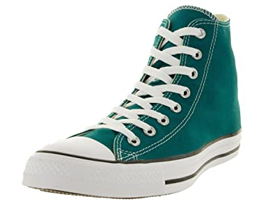 8f8ab28dfd25 Converse Unisex Chuck Taylor All Star Seasonal Hi Fashion Sneaker Shoe -  Rebel Teal - Mens