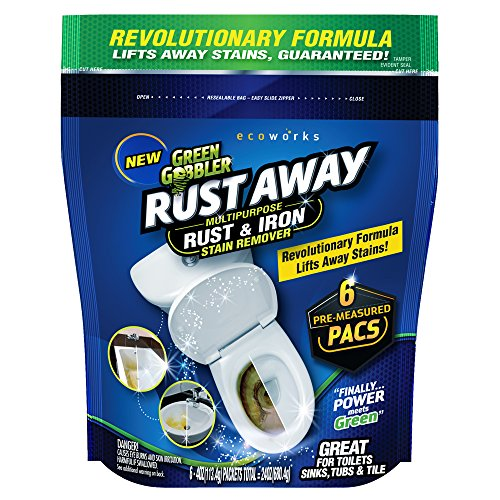 Green Gobbler Rust Away | Multipurpose Rust & Iron Stain Remover | Rust Removal | Iron Stain Removal | Toilet Stain Remover