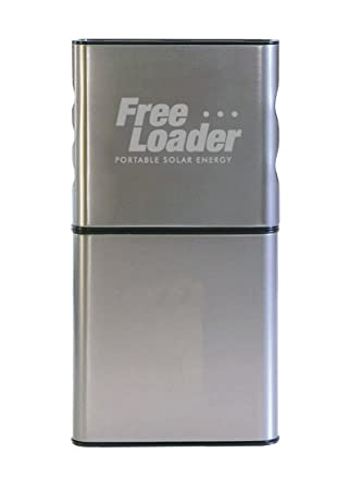 Freeloader Solar Charger Silver