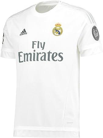 Adidas ISCO #23 Real Madrid UEFA Camiseta 1ra Champions League Juventud 2015/2016 (YXS): Amazon.es: Deportes y aire libre