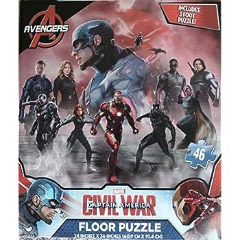 Amazon Com Marvel Captain America Civil War 46 Piece