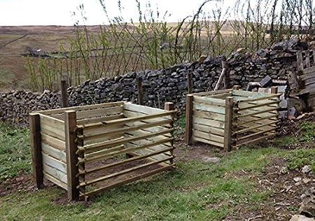 Amazon.com: Primrose London – Contenedor para compost ...