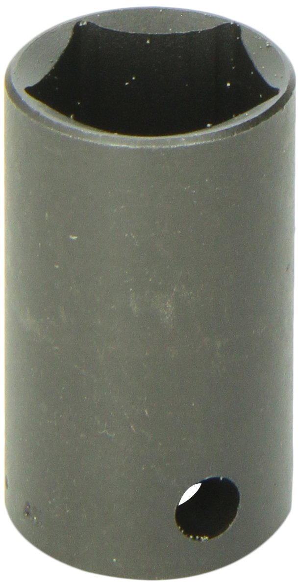 SK Hand Tool 34205 5 Point Drive Utility Socket – 1/2-Inch, Corrosion Resistant, Black Coated Safety Tool. Genuine Mechanic Equipment