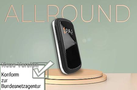 Paj Gps Allround Finder Modell 1 Gps Tracker Etwa 20 Tage Akkulaufzeit Bis Zu 60 Tage Im Standby Modus Live Ortung Peilsender Für Auto Personen Auto