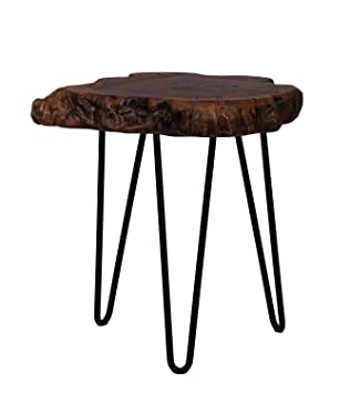 Tabouret Tronc D Arbre.One Couture Table D Appoint Exotique Tronc D Arbre Tabouret