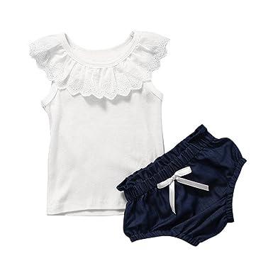 e75d59c62e6d Fanxing Fashion Princess DressToddler Kids Baby Girl Sleeveless Bow ...