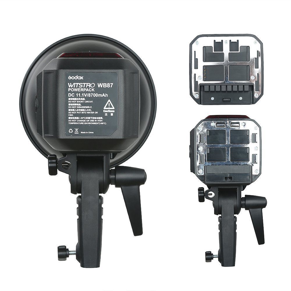 Godox AD600BM AD sync 1 / 8000s 2.4G Wireless Flash Light Speedlite,Godox XPro-C for Canon Cameras,AD-H600B Head,PB-600 Bag,CB-09 Suitcase Carry Bag,LETWING Camera Neck Strap by Godox (Image #8)