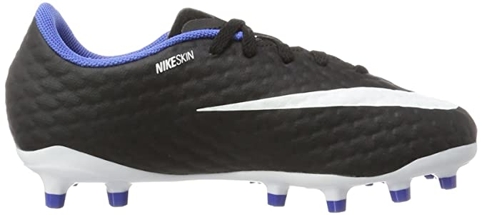 huge selection of ecd01 1cdb1 Nike Jr. Hypervenom Phelon III FG, Chaussures de Football Mixte Enfant,  Noir (