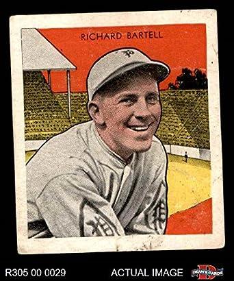 : 1933 Tattoo Orbit R305 Dick Bartell Philadelphia
