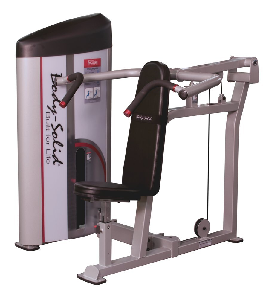 Shoulder Press Machine with 310 lbs. Weight Stack by Body-Solid