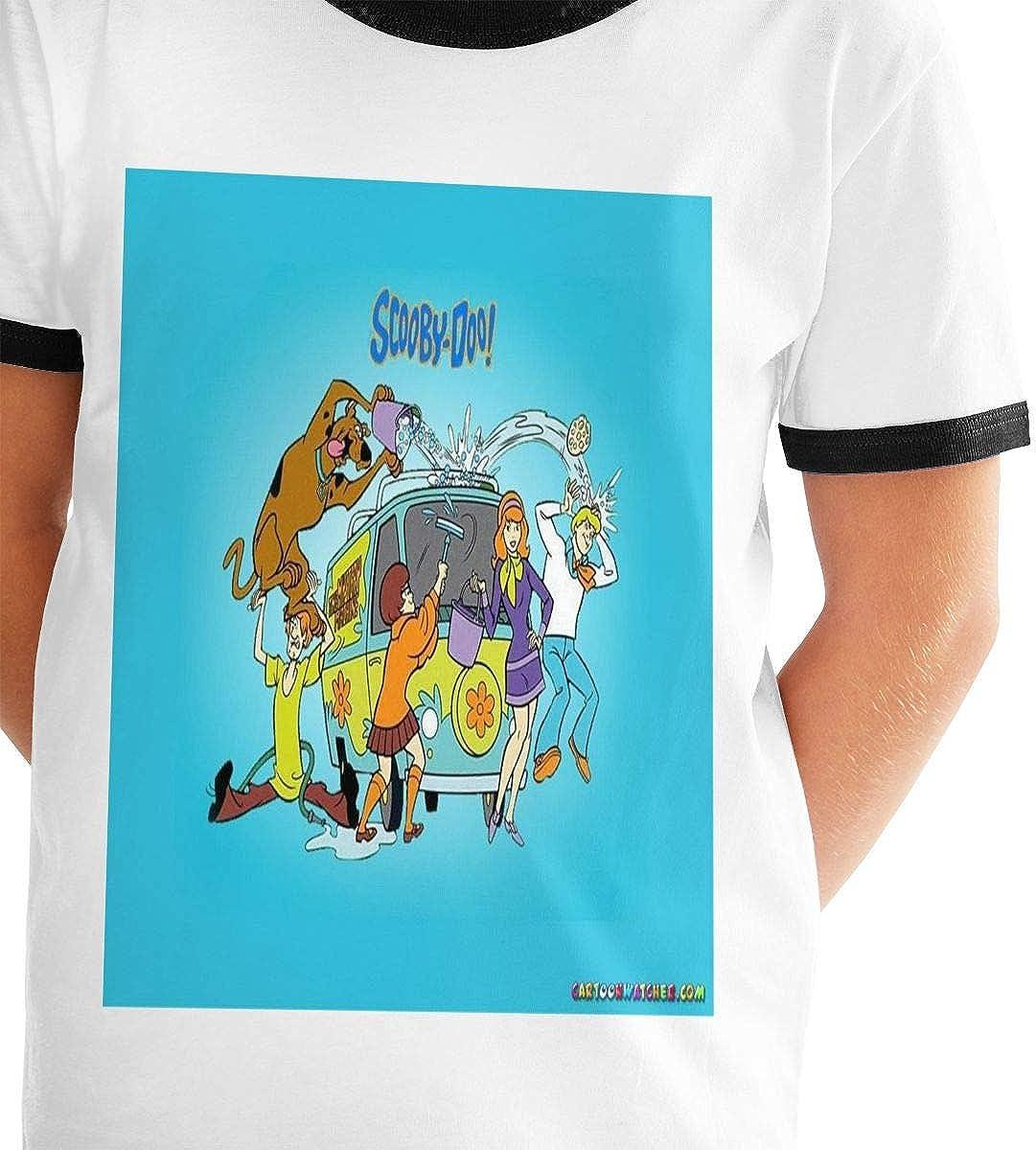 Scooby Doo Boy Junior Short Sleeve Print Tee Casual Loose Fit T-Shirt