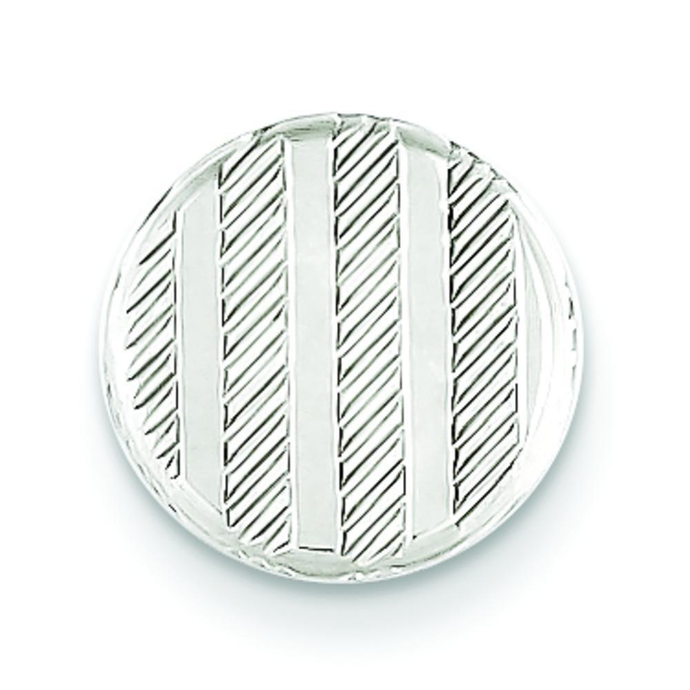 Sterling Silver Round Tie Tac