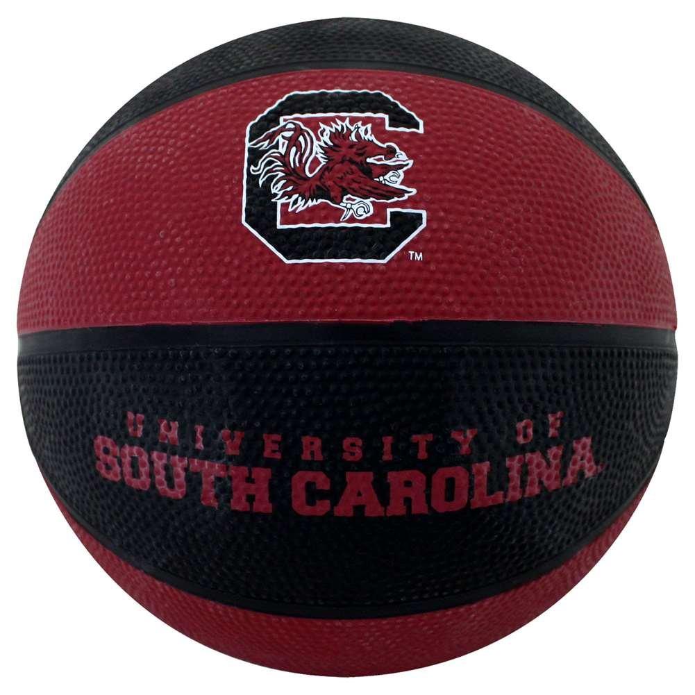 South Carolina Gamecocks Mini Rubber Basketball B01HQXZPJE