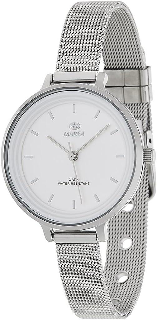 Reloj Marea Mujer B41198/1 Esterilla Blanco