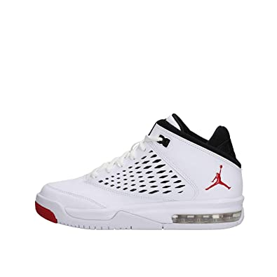 38cc6cc5481ded Jordan Flight Origin 4 (Kids) White Gym Red-Black