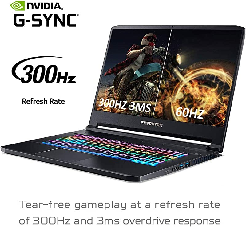 """金盒特价 Acer 宏碁 Predator Triton 500 掠夺者 15.6""""超薄游戏笔记本电脑(i7-10750H/GeForce RTX 2070 Super 8GB/16GB/512GB SSD) 8.3折$1499.99 海淘转运到手约¥10189"""