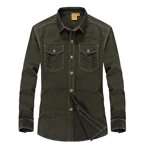 Lino Camisas <BR>Camisas de Vestir para Hombres Camisas ...
