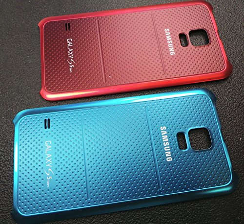 Simply Silver - New Sprint Samsung Galaxy S5 Sport G860P Battery Back Cover Door Case - Unbranded (Red)