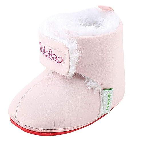 Botas Niñas Invierno, Zolimx Bebé Recién Nacido Niñas Niños Caliente Invierno Botas Bebe Reborn Primeros Pasos Zapatos de Suela Blanda: Amazon.es: Zapatos y ...