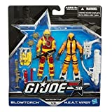 G.I. Joe 50th Anniversary Exclusive Action Figure 2-Pack Heated Battle [Blowtorch vs. H.E.A.T. Viper]