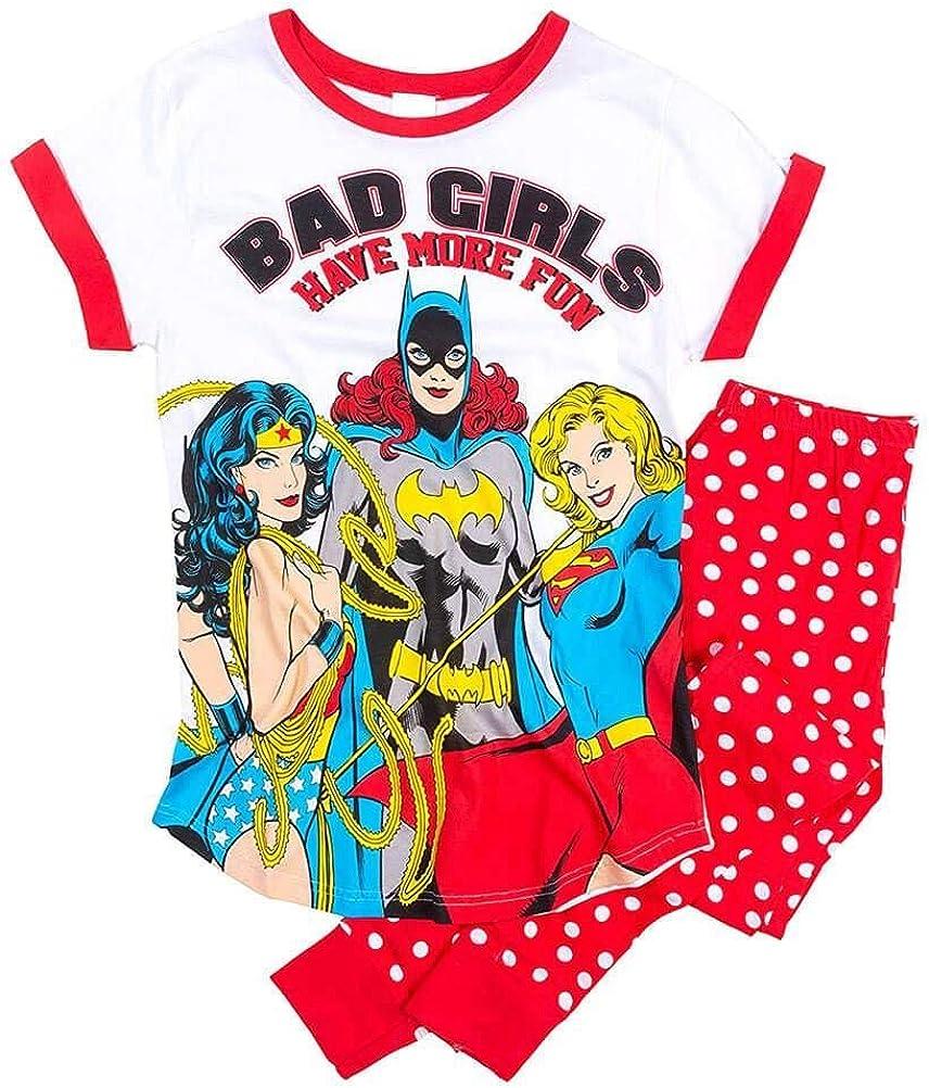 Justice League Bad Girls Ladies Pigiama