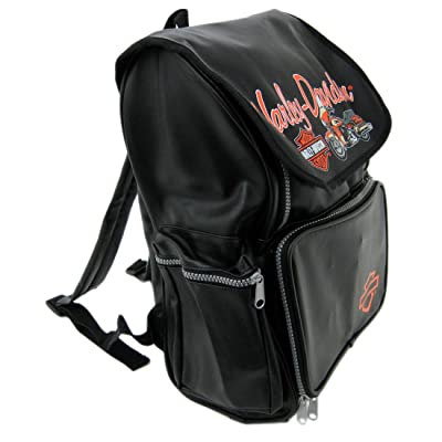 Harley-Davidson Kids Licensed Vinyl Backpack | Kids' Backpacks