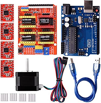 Nema17 Stepper Motor Driver Kit w//Mounting Bracket TB6600 For 3D Printer 2 Kits