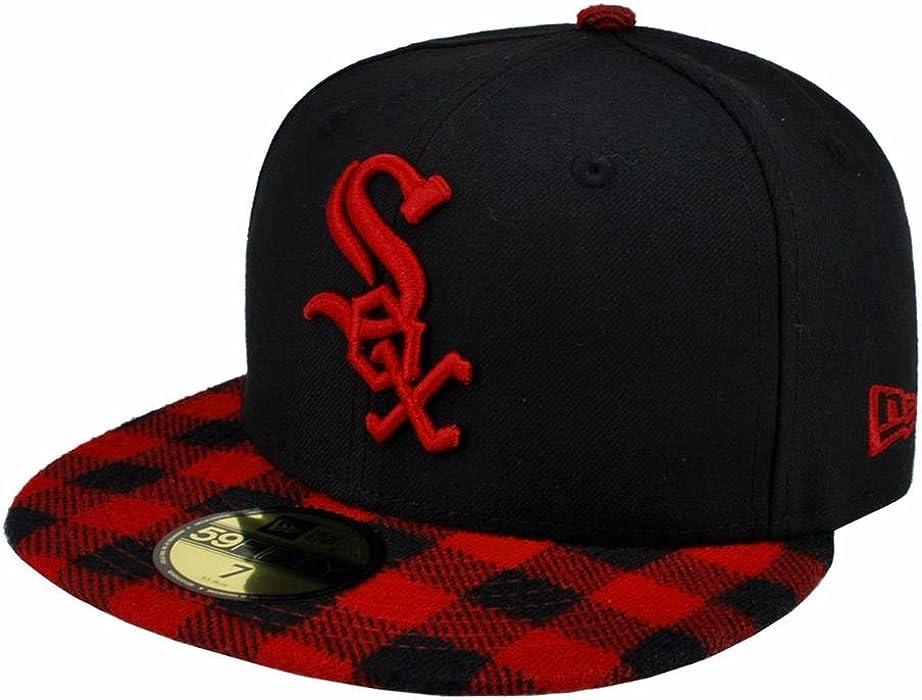 Amazon.com  NEW ERA 59fifty MLB Chicago White Sox Hat Premium Fitted ... bd10e0858e00