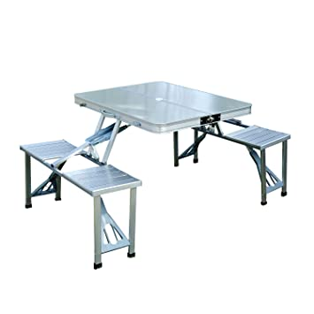 table pliante 4 places valise