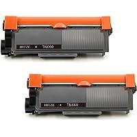 Hitze TN2320 Cartuchos de Toner 2 Negro Compatible para Brother 2320 MFC L2700DW L2700DN L2720DW L2740DW HL L2300D…