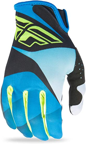 Lite Blue//Navy Fly Racing Bike MTB Adult Mountain Bike Gloves