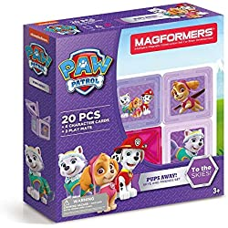 Magformers 66007 Building Kit, Paw Patrol Colors