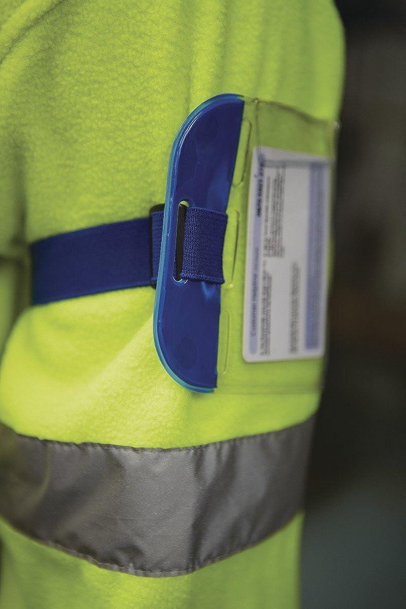 per addetti alla e impianti disponibile in 5 colori di sicurezza EyeCandy Essentials-Porta Badge da braccio il personale per porta