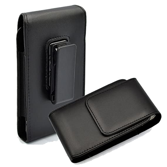 Amazon kingsource vertical leather case holster pouch with kingsource vertical leather case holster pouch with rotating belt clip compatible for apple iphone 5 iphone freerunsca Choice Image