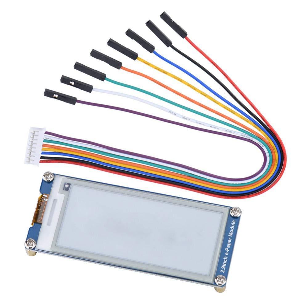 Asixx Modulo E-paper, 2.9 pollici 296 x 128 E-Ink E-Ink Display Module Consiglio Consumo energetico ultra basso per Raspberry Pi/Arduino / Nucleo