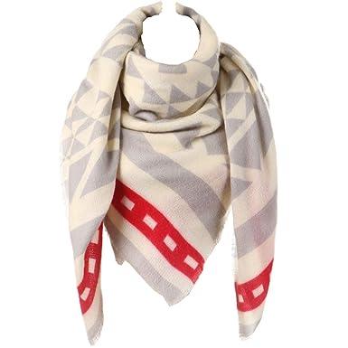 Plaid Blanket Scarf for Women b0089304e