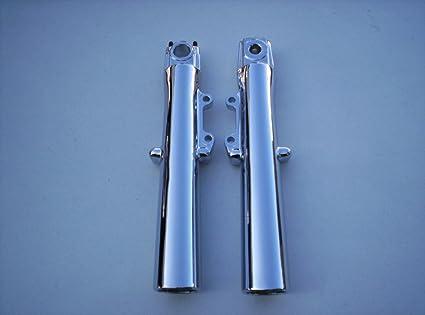 Harley Touring Chrome Fork Sliders 2000-13