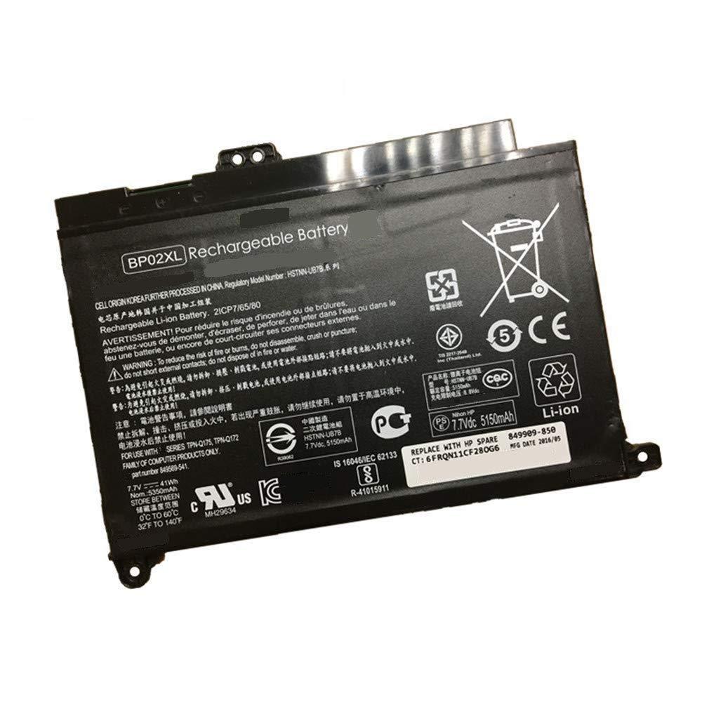 Bateria Bp02xl Para Hp Pavilion Pc 15 15-au 849909-850 F9-21 849569-421 Hstnn-lb7h Bp02041xl