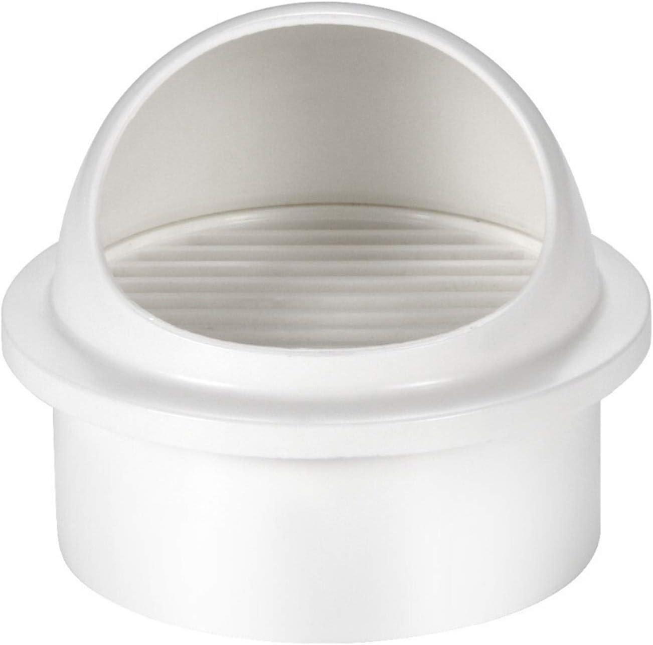 Shuxiang-rejilla de ventilación 4/6 pulg, ABS, pared redonda salida de aire, conductos de ventilación del valor, la cubierta de boca de extracción, Salida de ventilación for el hogar Calefacción Los v